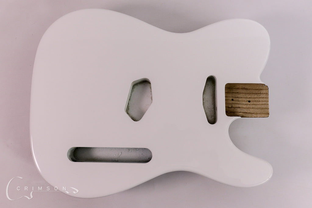 Finished Kit Guitar T-type Bright White Gloss