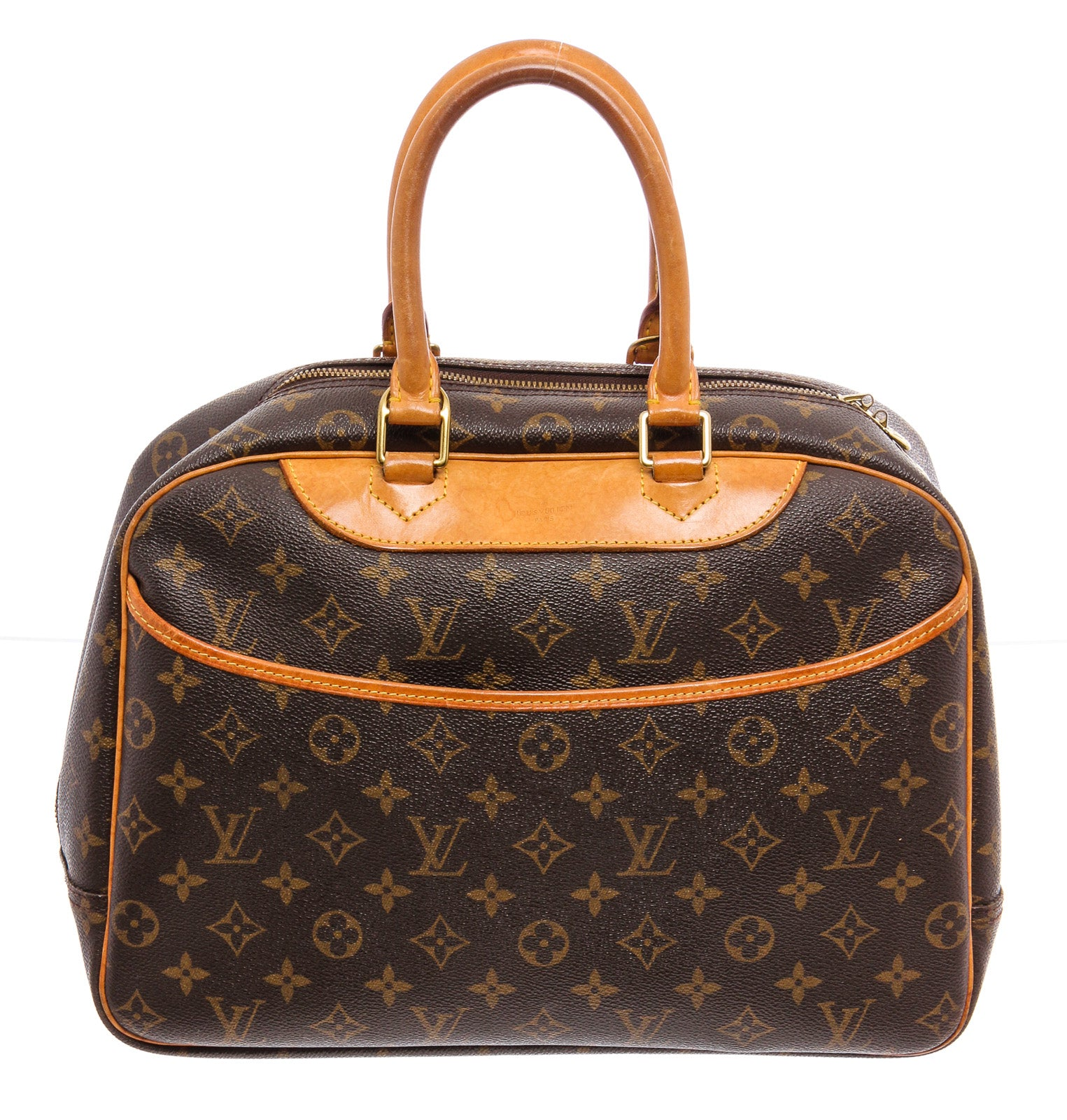 Louis Vuitton Monogram Canvas Deauville Doctor Bag