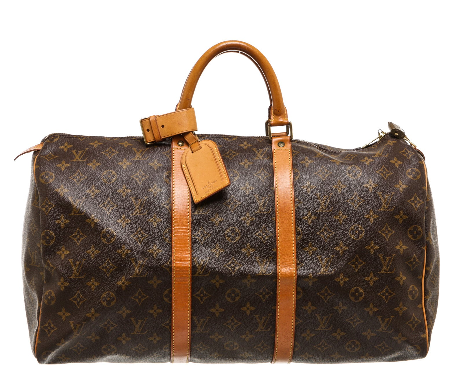 Louis Vuitton Monogram Canvas Keepall 50 Duffel Bag