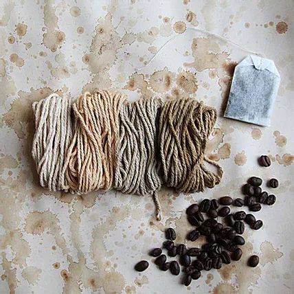 Eco-Dye Workshop with Coffee grounds - Sponsored by Starbucks