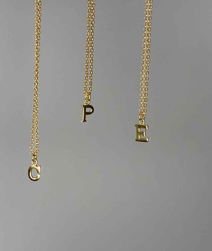 Load image into Gallery viewer, Initial Necklace