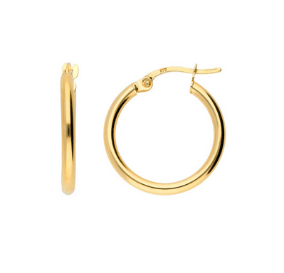 Load image into Gallery viewer, Vera Hoops 9ct Gold