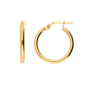 Rebekkah Hoops 9ct Gold