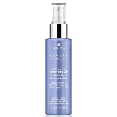 Caviar Anti-Aging Restructuring Bond Repair Leave-In Heat Protection Spray 125ml