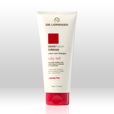 De Lorenzo Novafusion Colour Care Shampoo Intense Ruby Red 200ml