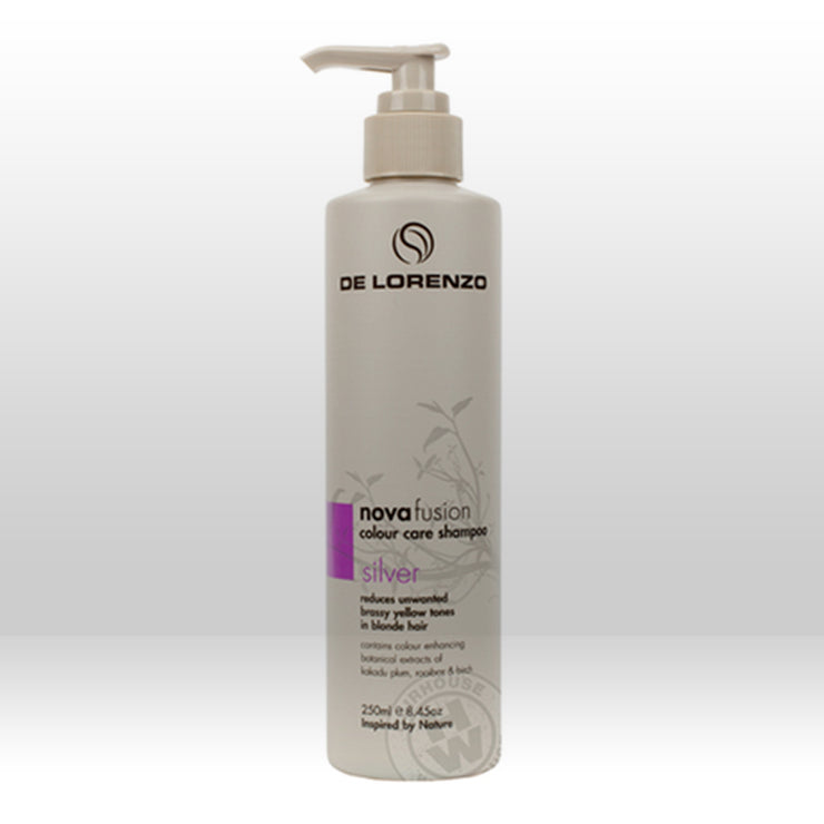 De Lorenzo Novafusion Silver Colour Care Shampoo 250ml