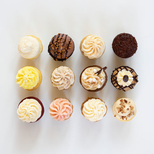 january baker's choice mini assortment - 1 dozen