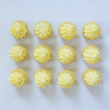 Load image into Gallery viewer, one dozen lemon cupcakes