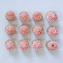 Load image into Gallery viewer, one dozen strawberry cupcakes