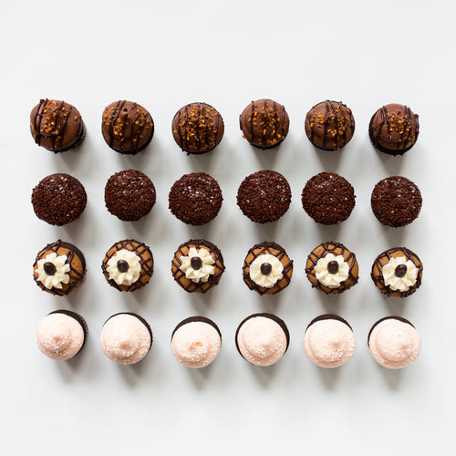 winter chocolate mini assortment - 2 dozen
