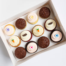 Load image into Gallery viewer, pack of 12 cupcakes: september flavors