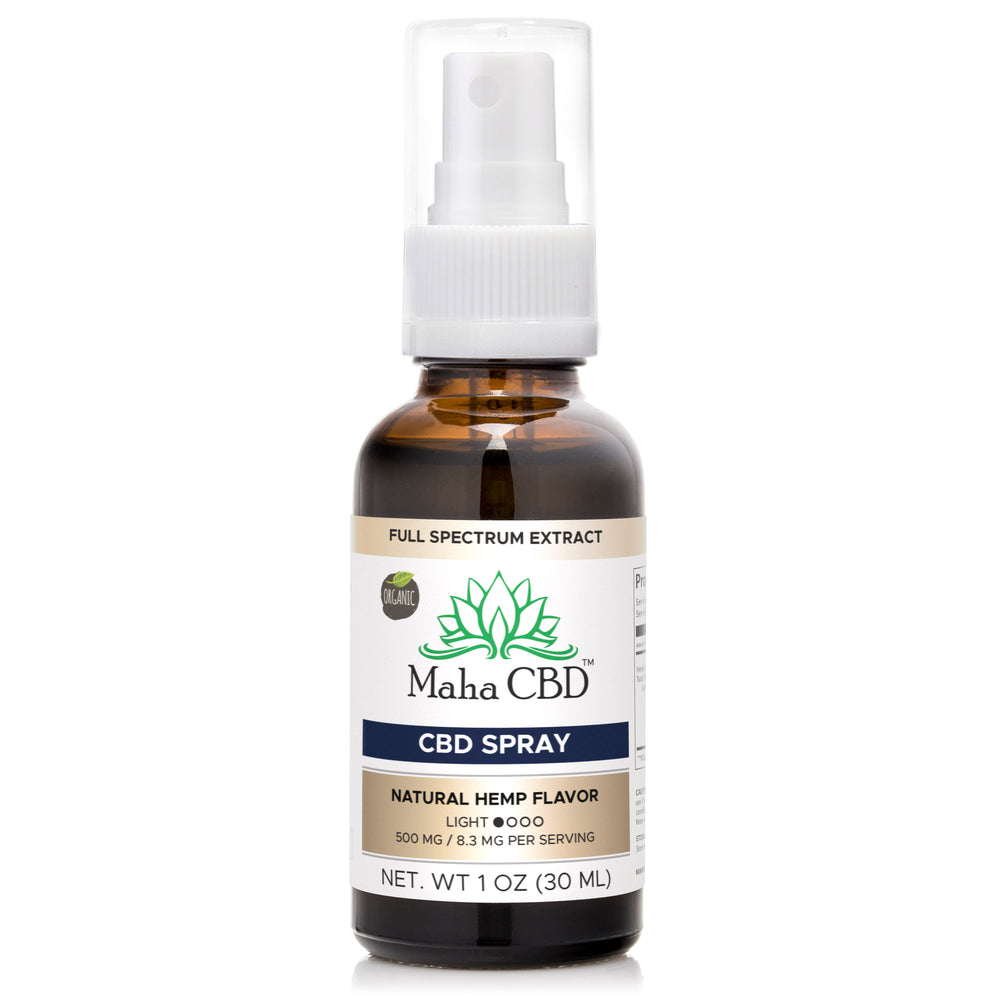 CBD Oral Oil Spray - MahaCbd