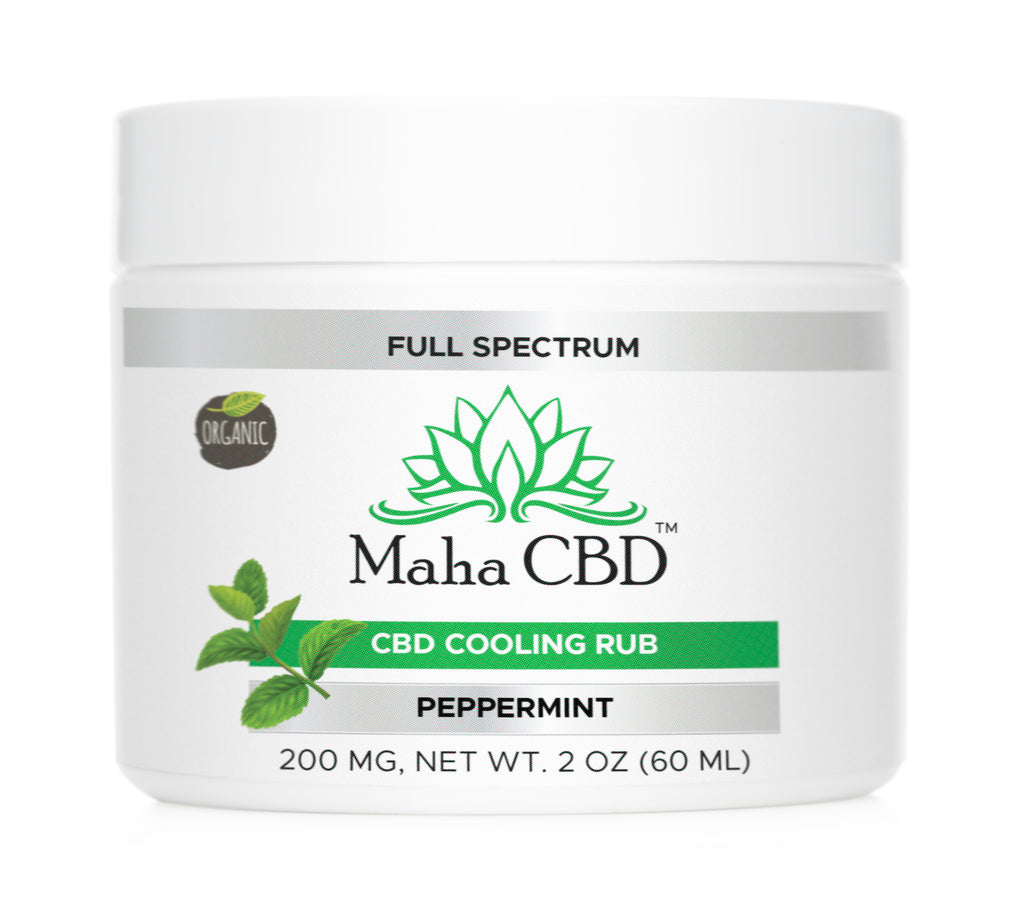 CBD Soothing Peppermint Rub - MahaCbd
