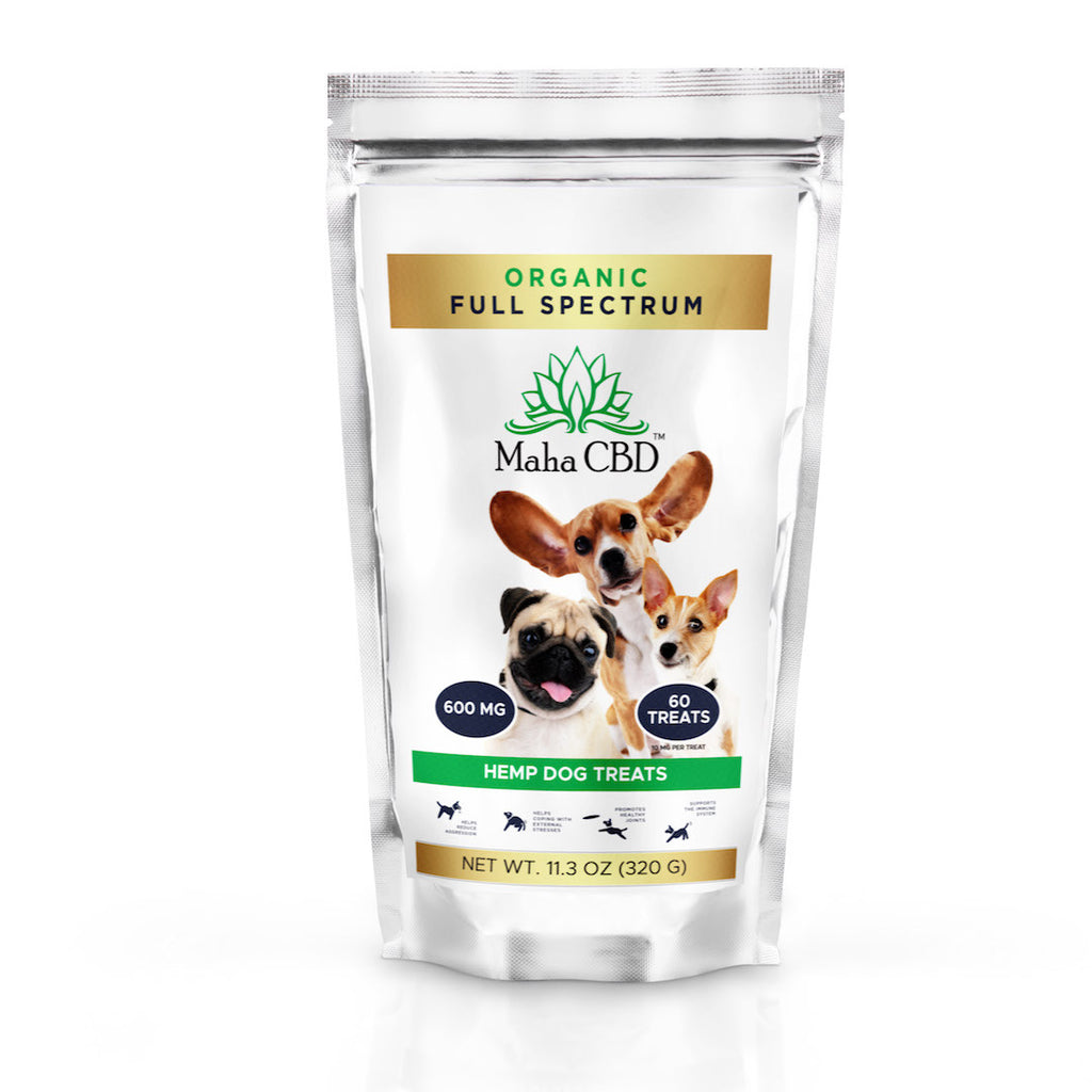 CBD Dog Treats - MahaCbd