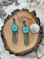 Load image into Gallery viewer, Alfy Collection Grecian Metal with Turquoise, Pyrite, and Sterling Silver