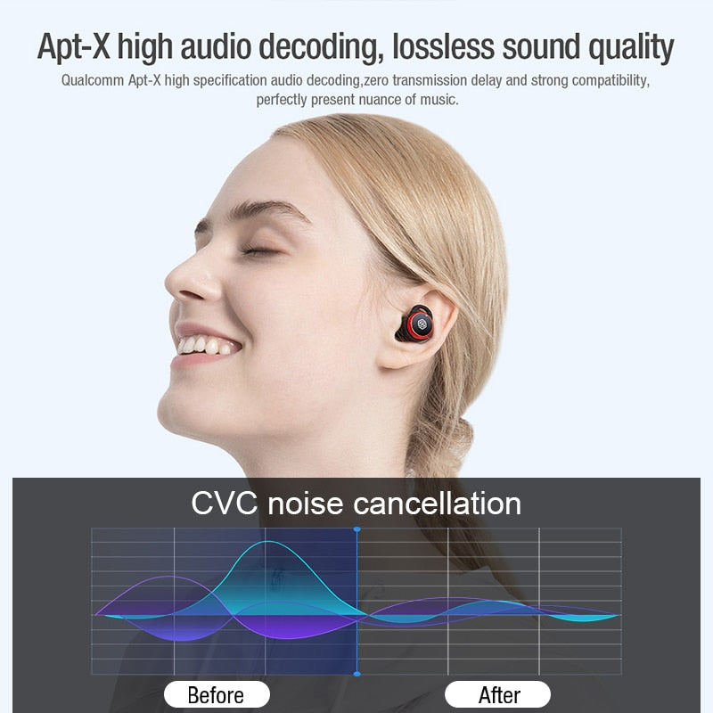 Wireless Noise Cancelling Earbuds