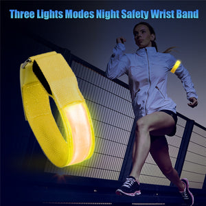 LED Safety Light Armband for Outdoor Activities