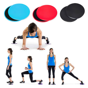 2-Pc Gliding Disc Gym Equipment