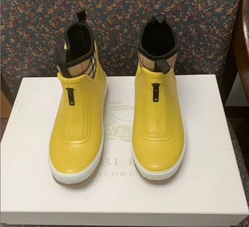 New Burberry Rain Boots