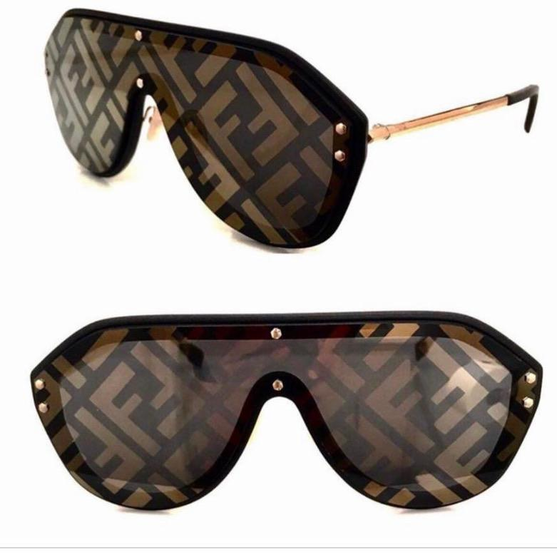 Fendi Monogram Sunglasses