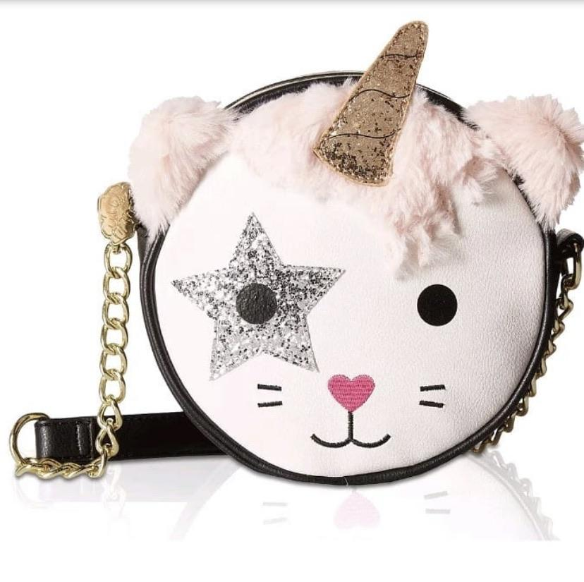 Betsey Johnson Kitch Cat Unicorn Bag