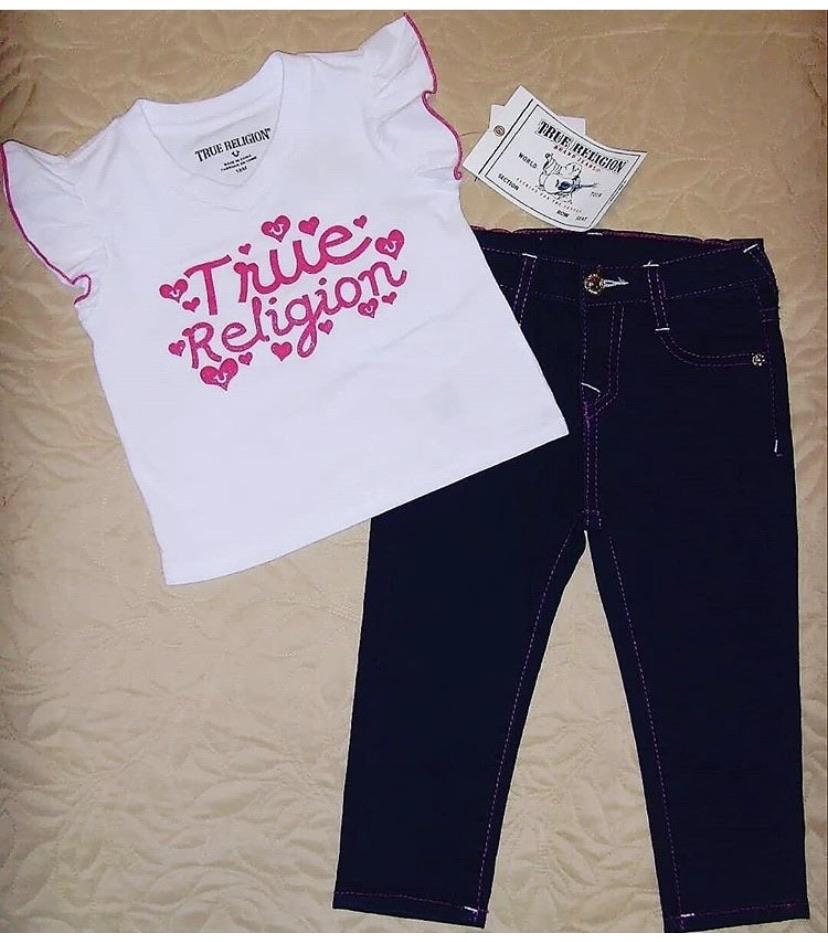 True Religion Baby Girls Outfit