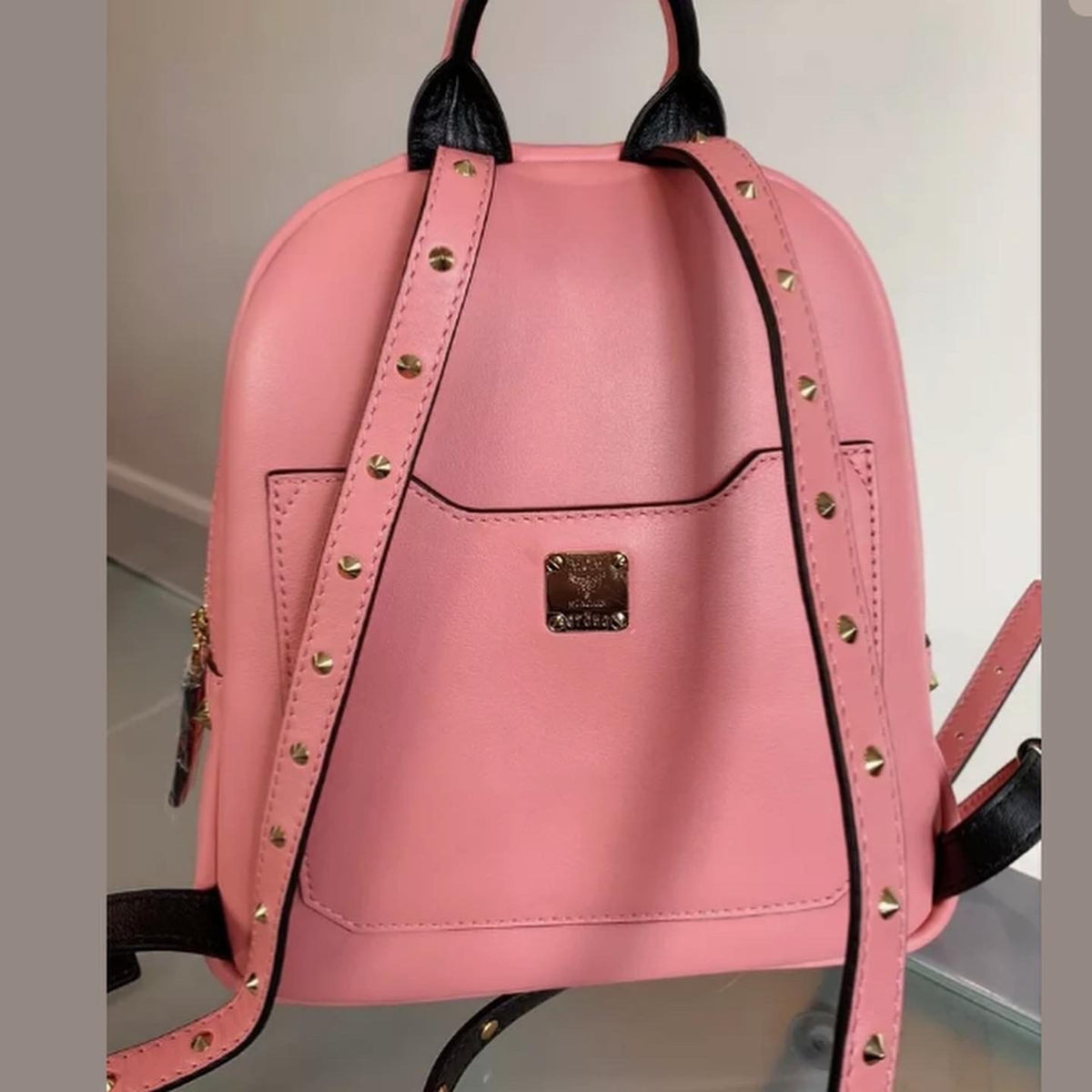 MCM Mini Studded Backpack