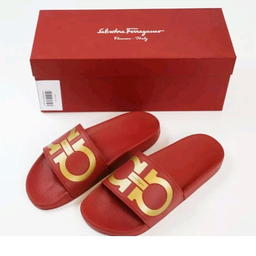 Salvatore Ferragamo Men's Slides