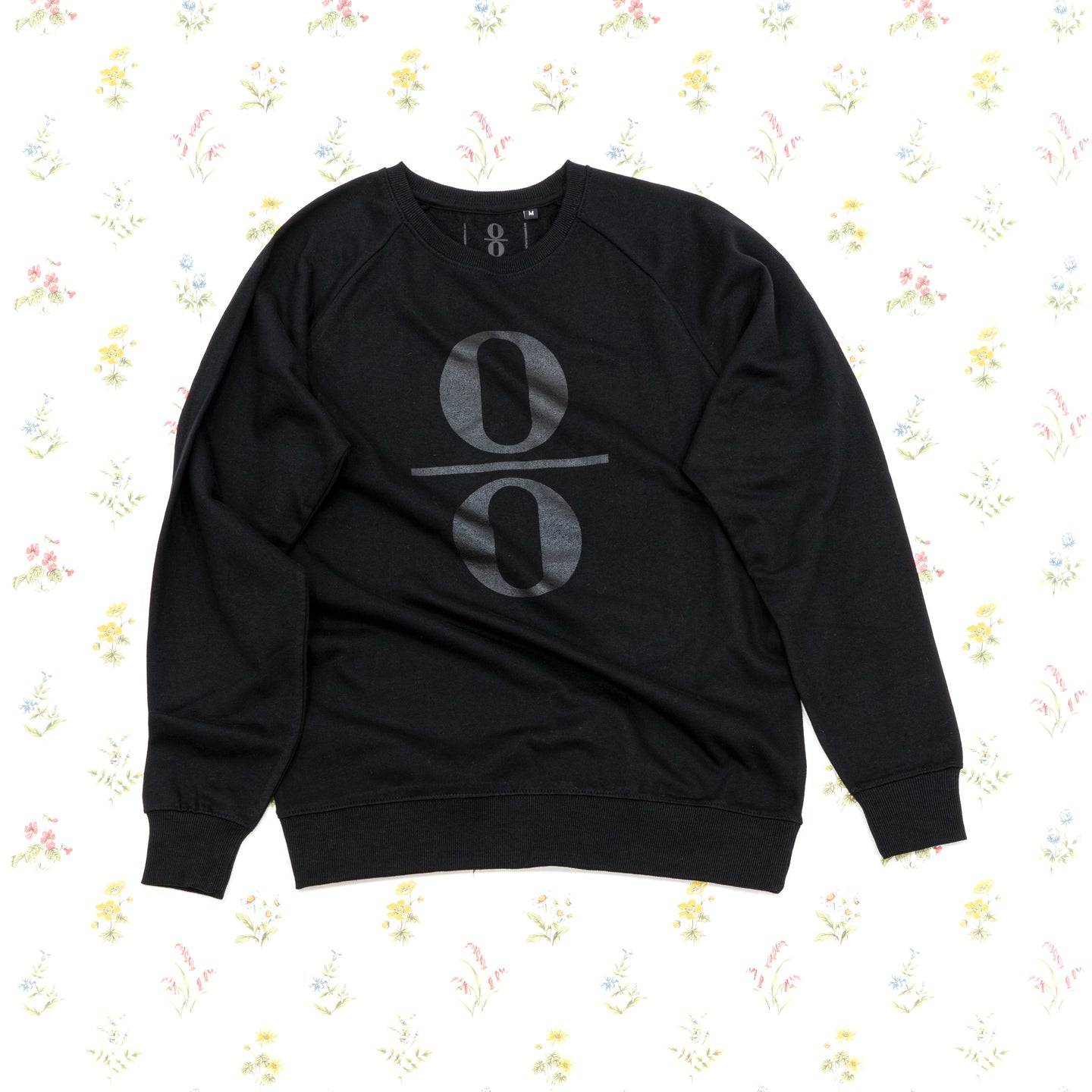 Sweatshirt Black with Black Logo