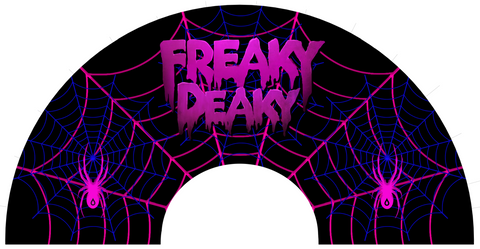Freaky Deaky Spider Web Fan