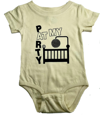 DDP Baby Onesie - Party At My Crib!