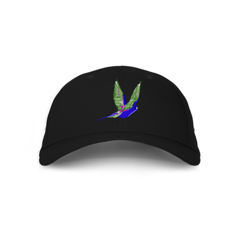 Sunset Parrot Dad Hat