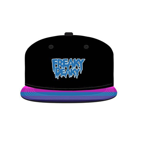 Freaky Deaky Stripes Snapback Hat