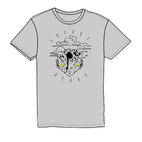 Freaky Deaky UFO Mountain T-Shirt
