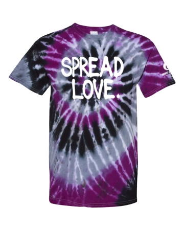 SPREAD LOVE TieDye Tee
