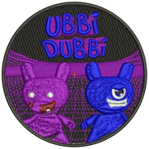 Ubbi Dubbi Iron On Patch