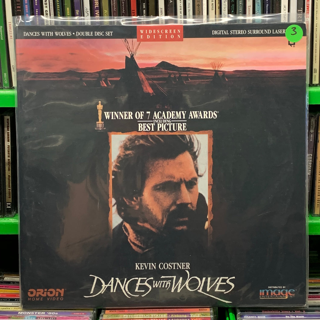 Dances with Wolves Laserdisc