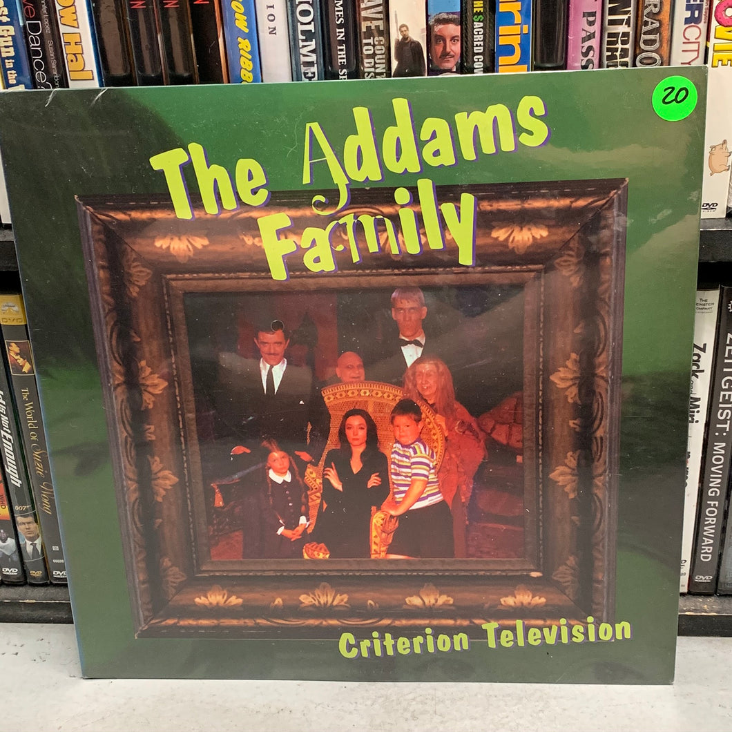Addams Family Laserdisc (Criterion)
