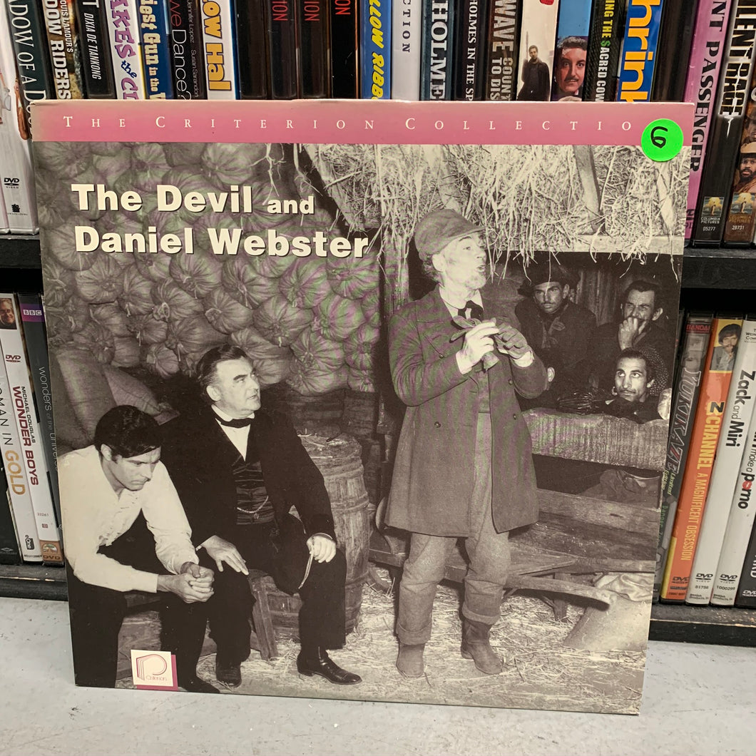 The Devil and Daniel Webster Laserdisc (Criterion)