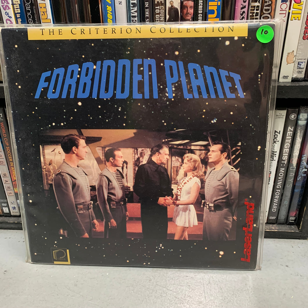 Forbidden Planet Laserdisc (Criterion)