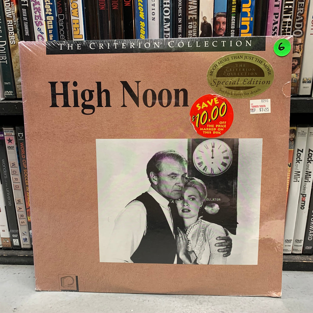 High Noon Laserdisc (Criterion) New Sealed