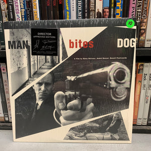 Man Bites Dog Laserdisc (Criterion)