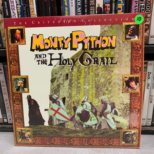 Monty Python and the Holy Grail Laserdisc (Criterion)