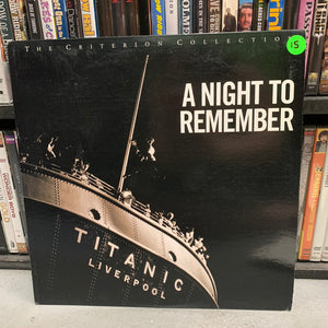 A Night to Remember Laserdisc (Criterion)