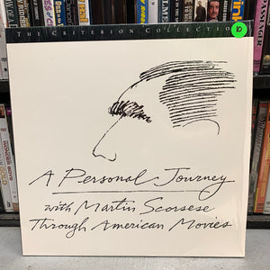 Personal Journey with Martin Scorsese Laserdisc (Criterion)