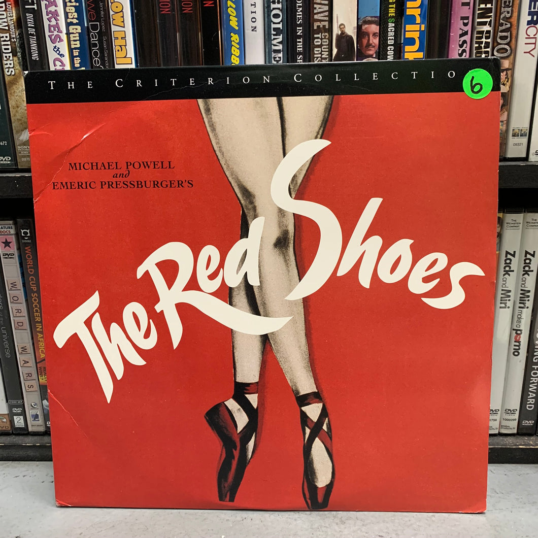 Red Shoes Laserdisc (Criterion)