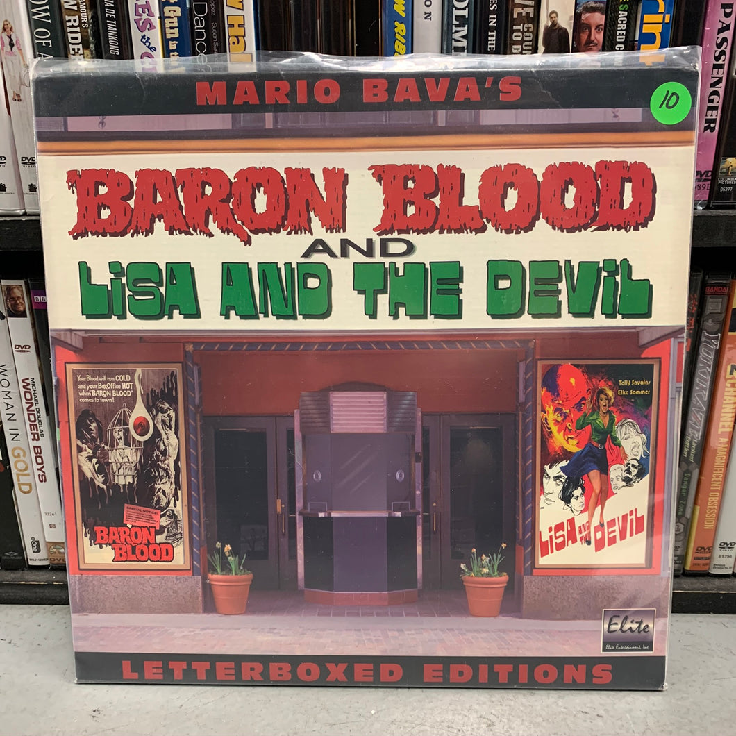 Baron Blood & Lisa and the Devil Laserdisc