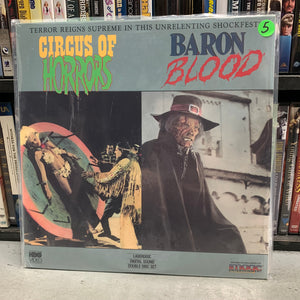 Circus of Horrors / Baron Blood Laserdisc