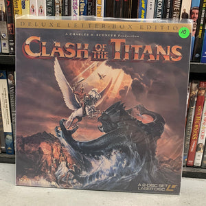 Clash of the Titans Laserdisc