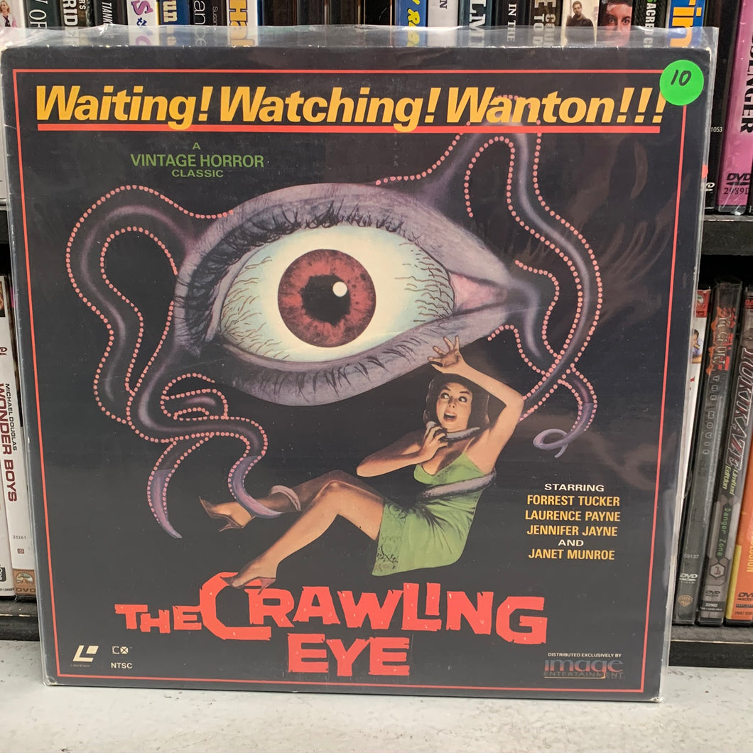 Crawling Eye Laserdisc